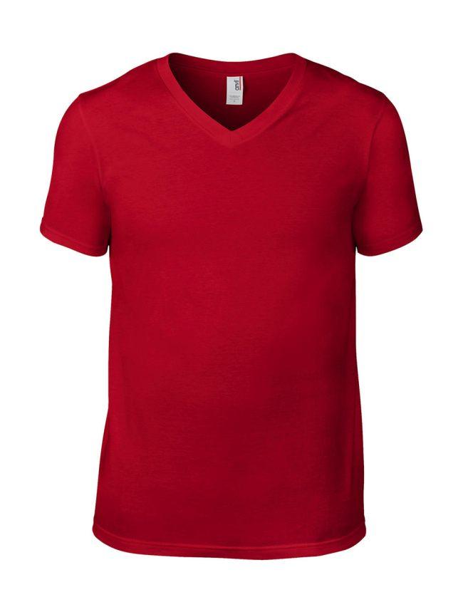 80de0a449b22 Pánske tričko Fashion V-Neck - www.reklamnetricka.sk