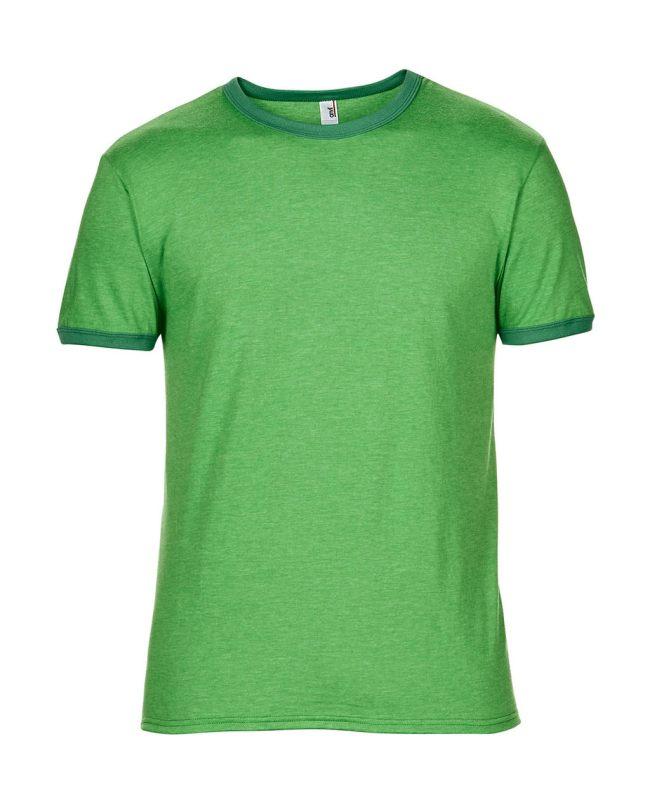 d7b1f46d40fd Pánske tričko Fashion Basic Ringer - www.reklamnetricka.sk