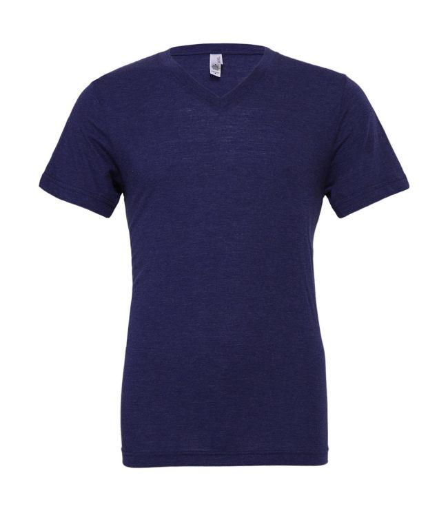 Unisex tričko Triblend V-neck - www.reklamnetricka.sk 486ab0fd63